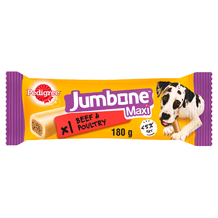 PEDIGREE® Jumbone Beef and Poultry Maxi 180g
