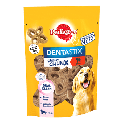 PEDIGREE® Dentastix Chewy Chunx Maxi Dog Treat Beef Flavour 68g