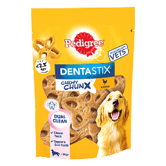 PEDIGREE® Dentastix Chewy Chunx Maxi Dog Treat Chicken Flavour 68g