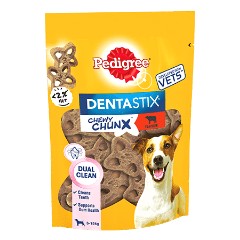 PEDIGREE® Dentastix Chewy Chunx Mini Dog Treat Beef Flavour 68g