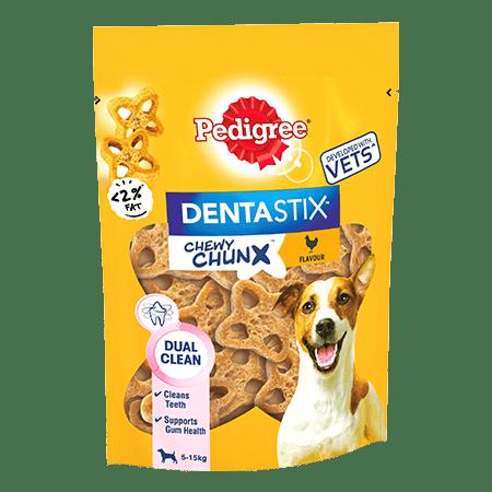 PEDIGREE® Dentastix Chewy Chunx Mini Dog Treat Chicken Flavour 68g