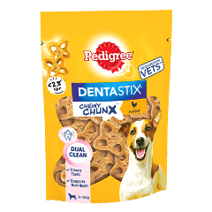 PEDIGREE® Dentastix Chewy Chunx Mini Dog Treat Chicken Flavour 68g