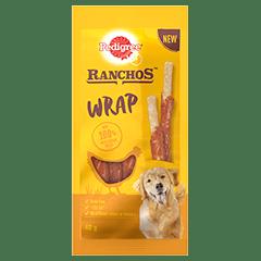 PEDIGREE® Ranchos Wrap Dog Treats with Chicken 40g