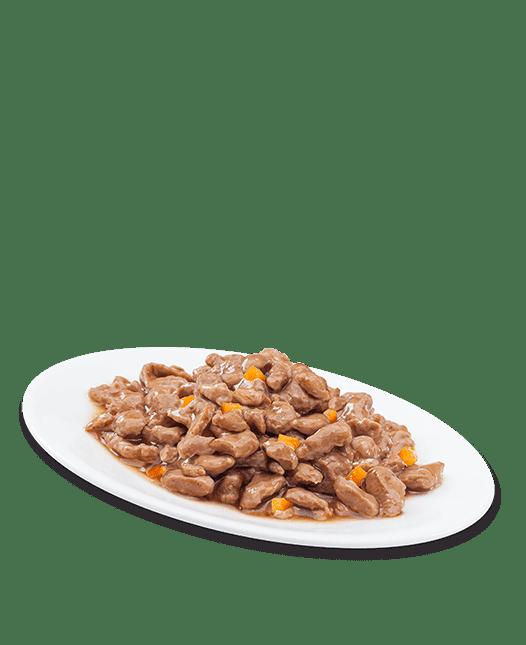 Au poulet et bœuf