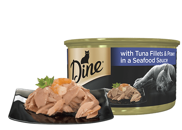 with Tuna Fillet and Prawn in a Seafood Sauce din081 0000093532938
