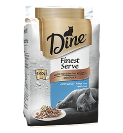 Mini Fresh & Fine with Fish Selection in Gravy