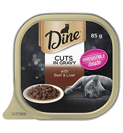 Favourites Cuts in Gravy with Beef & Liver