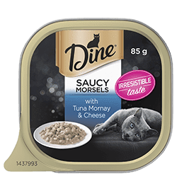 Favourites Saucy Morsels with Tuna Mornay & Cheese
