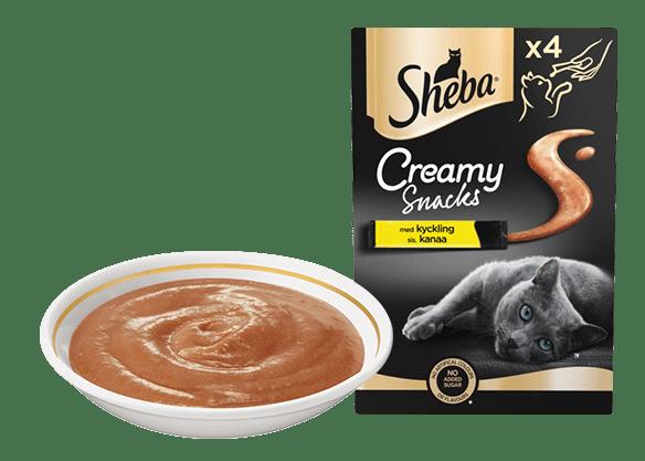 Sheba® Creamy Snacks Kanaa