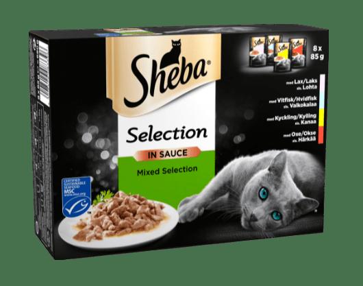 Mixed Collection med Laks, Hvidfisk og Kylling