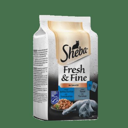 Sheba®Fresh & Fine Fisk med tunfisk&torsk