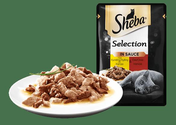 Sheba® Selection DUO Kyckling och Oxe