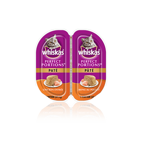 WHISKAS<sup>®</sup> PERFECT PORTIONS<sup>®</sup> Chicken Pate Entrée