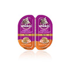 WHISKAS® PERFECT PORTIONS® Chicken Pate Entrée