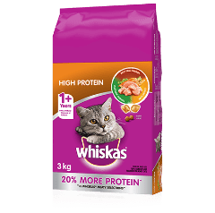 WHISKAS® Dry Cat Food High Protein