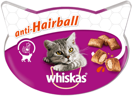 WHISKAS® Antihairball 60g