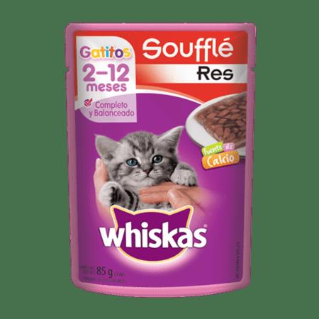 WHISKAS® Soufflé Gatitos Res