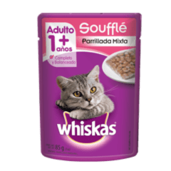 WHISKAS® Soufflé Parrillada Mixta