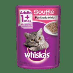 WHISKAS® Soufflé Parrillada Mixta