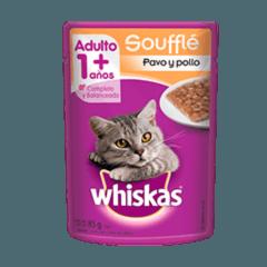 WHISKAS® Soufflé Pavo y Pollo