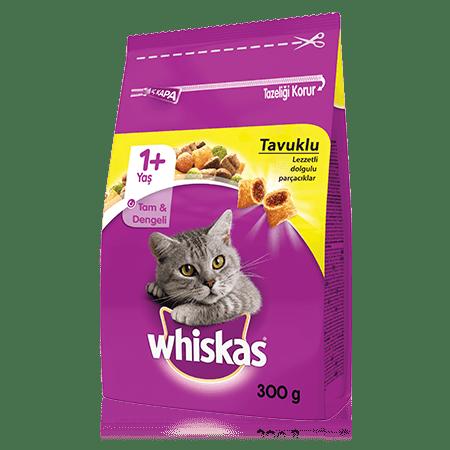 WHISKAS® Tavuklu Kuru Kedi Maması